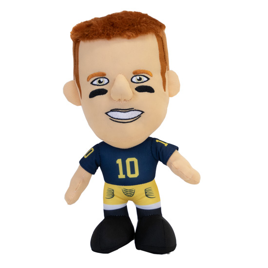 Forever Collectibles University of Michigan Tom Brady ''Pro Bro'' Plush Toy