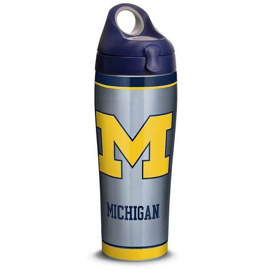 Tervis University of Michigan 24 oz Stainless Steel Water Bottle