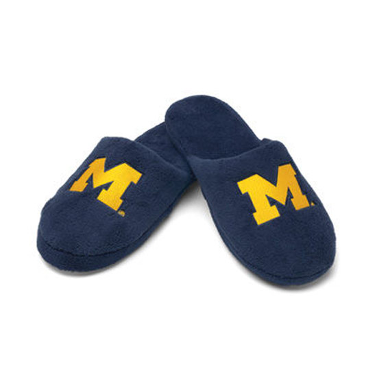 Forever Collectibles University of Michigan Plush Slippers