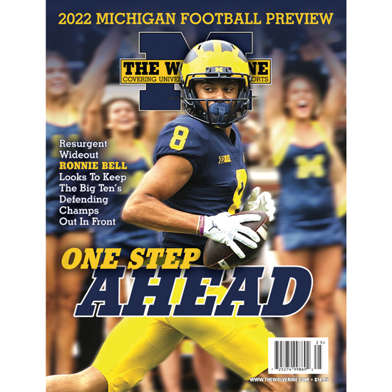 free shipping 0cb33 cffde The Wolverine Magazine University of Michigan Football 2019 Preview Issue