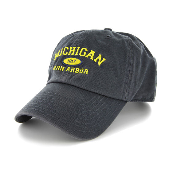 '47 Brand University of Michigan Ann Arbor Established 1817 Clean Up Hat