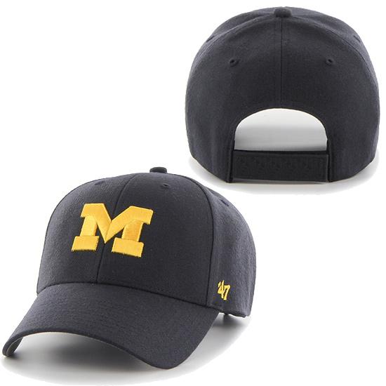 '47 Brand University of Michigan Navy MVP Closer Hat
