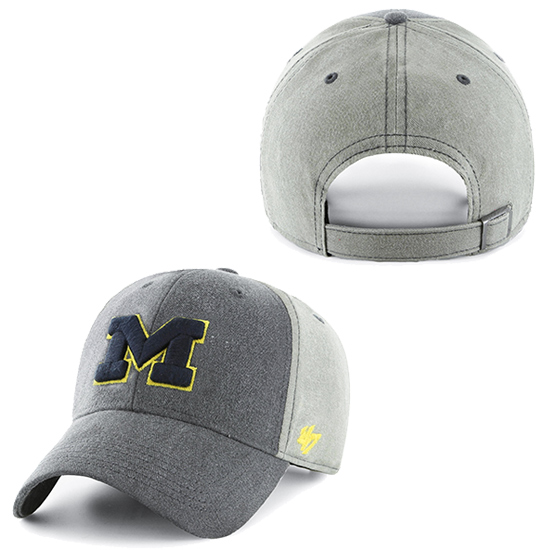 '47 Brand University of Michigan ''Darkfield'' MVP Closer Hat