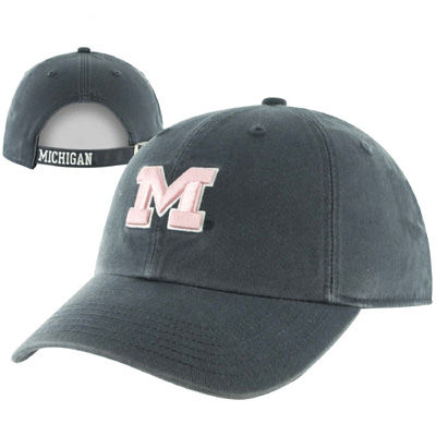 '47 Brand University of Michigan Ladies Navy Christina Clean-Up Hat