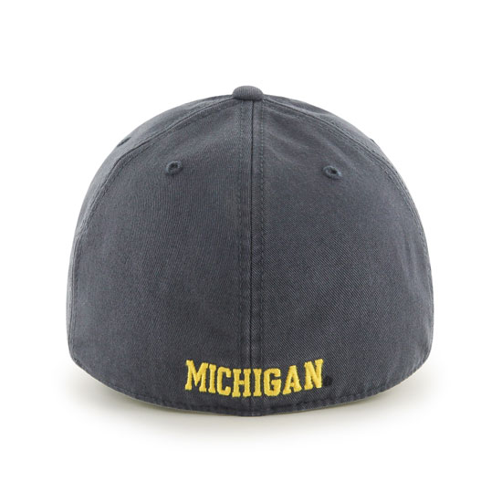 d37da58e99a  47 Brand University of Michigan Navy Franchise Fitted Hat. Product  Thumbnail Product Thumbnail Product Thumbnail