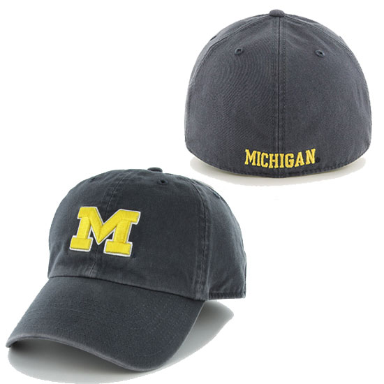 '47 Brand University of Michigan Navy Franchise Fitted Hat