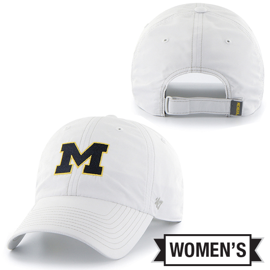 '47 Brand University of Michigan Ladies White Marathon Running Hat