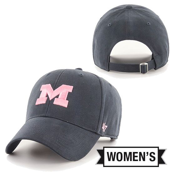 '47 Brand University of Michigan Women's Navy MVP Closer Hat