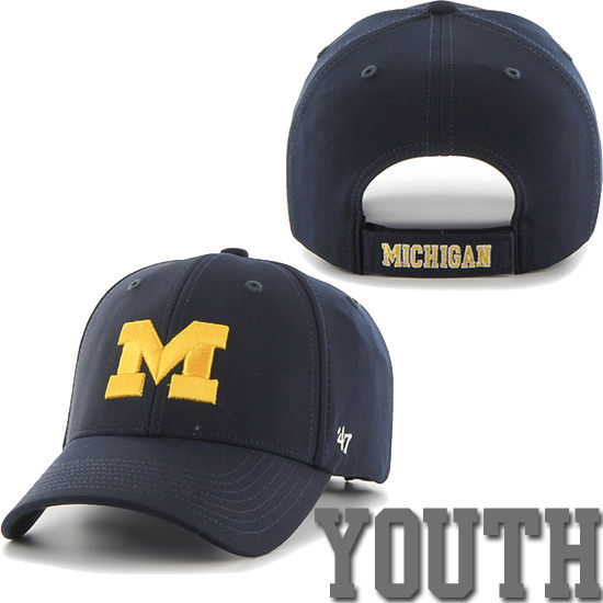 '47 Brand University of Michigan Youth Navy Juke Performance Hat