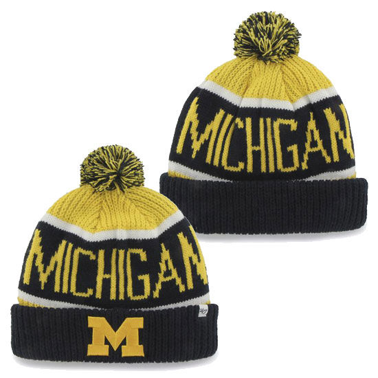 '47 Brand University of Michigan Calgary Cuff Knit Hat