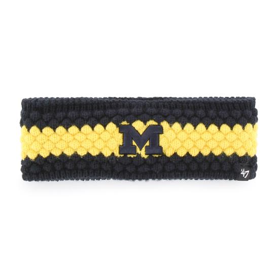 '47 Brand University of Michigan Women's Leslie Knit Headband