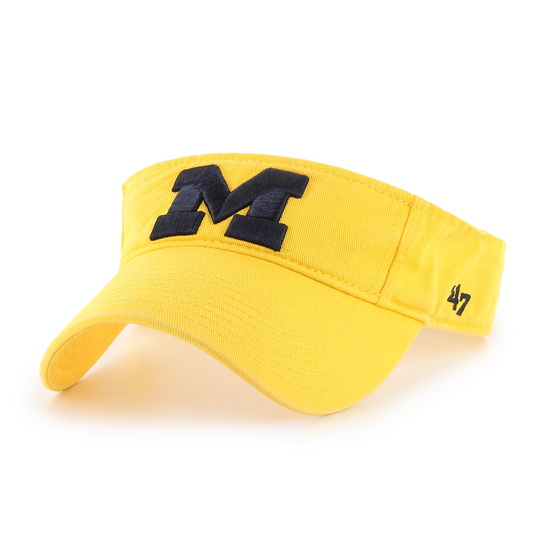 '47 Brand University of Michigan Yellow Clean-Up Visor