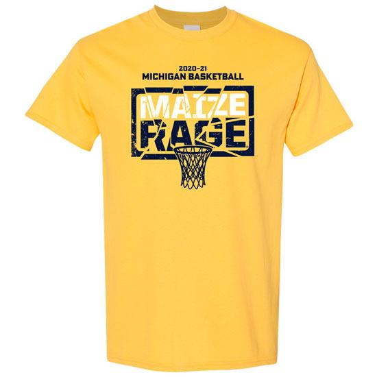 University of Michigan Basketball 2020-'21 Season Tee