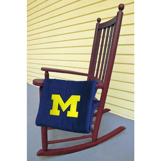 UBF University of Michigan Classic Varsity Wool Blanket