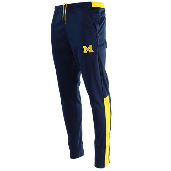 Valiant University of Michigan Navy Tricot Track Pant