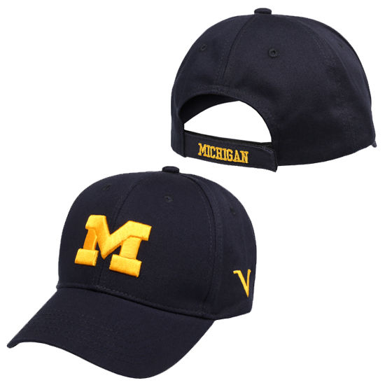 Valiant University of Michigan Navy Structured Hat