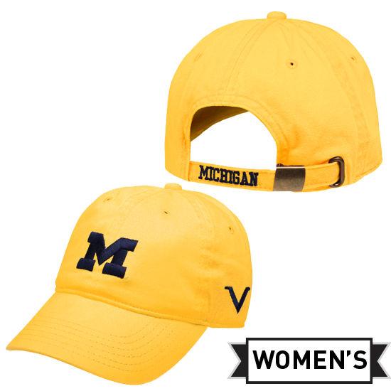 Valiant University of Michigan Women's Yellow Slouch Hat