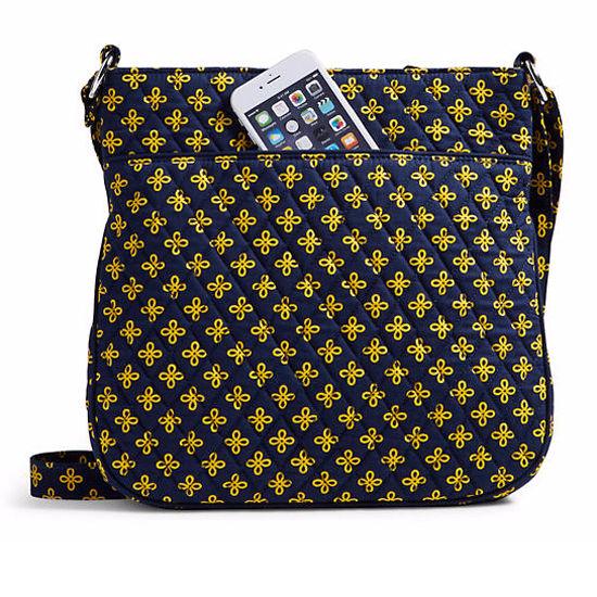 d50efeb1906684 Vera Bradley University of Michigan Triple Zip Hipster Crossbody Bag