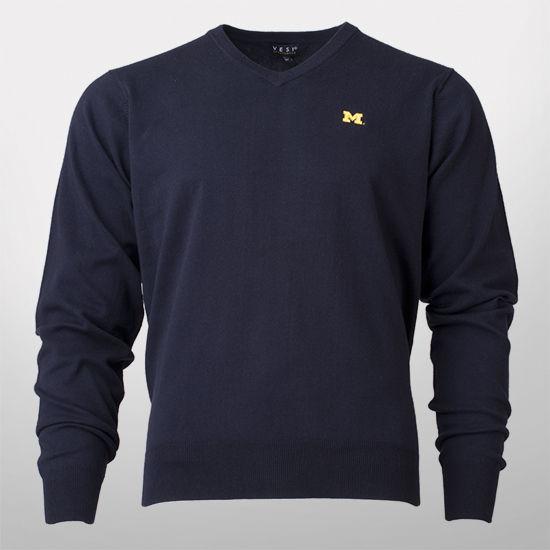 Vesi University of Michigan Navy Sweater