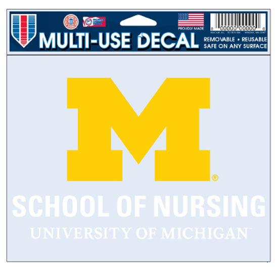 WinCraft University of Michigan School of Nursing Decal