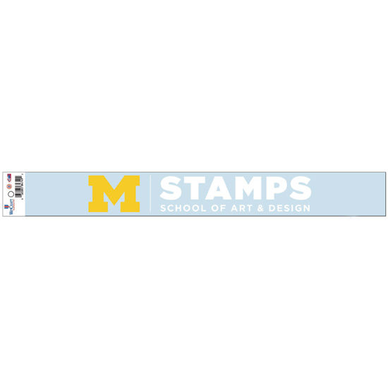 WinCraft University of Michigan STAMPS School of Art & Design Window Decal