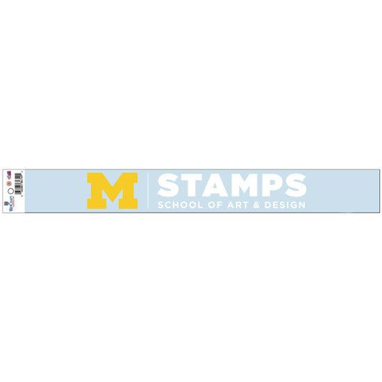 WinCraft University of Michigan STAMPS School of Art & Design Window Decal