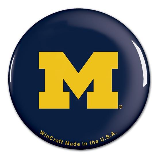 WinCraft University of Michigan Block ''M'' Button