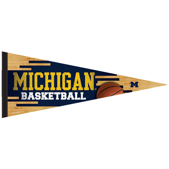 WinCraft University of Michigan Basketball Premium Pennant