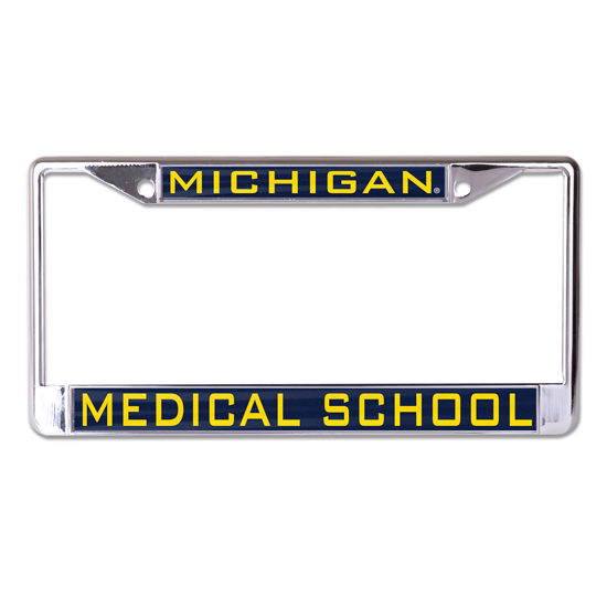 WinCraft University of Michigan Medical School Inlaid Laser Magic License Plate Frame