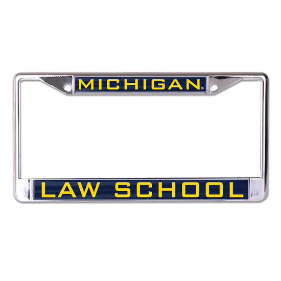 WinCraft University of Michigan Law School Inlaid Laser Magic License Plate Frame