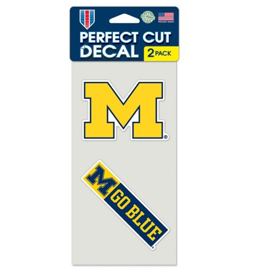 WinCraft University of Michigan Double Decal Pack