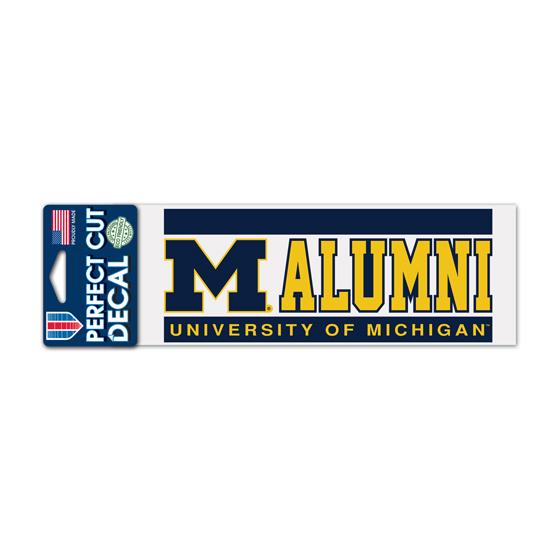 WinCraft University of Michigan Alumni Decal