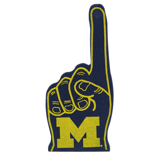 WinCraft University of Michigan Foam Finger