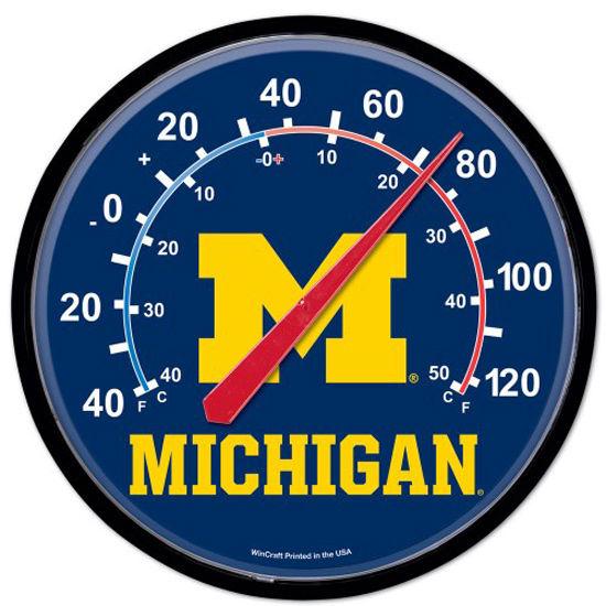 WinCraft University of Michigan Round Thermometer