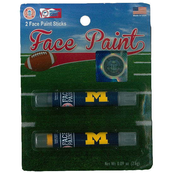 Worthy University of Michigan 2 Pack Face Paint
