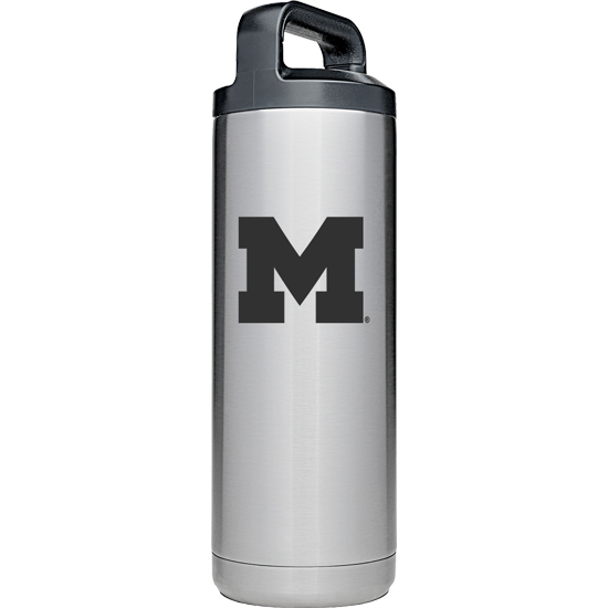Yeti University of Michigan 18 oz. Rambler Stainless Steel Water Bottle