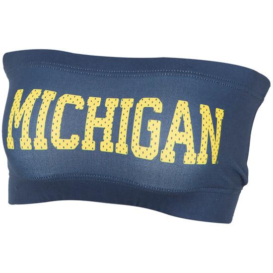 ZooZatz University of Michigan Women's Navy Bandeau
