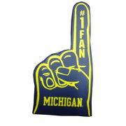 Rico Tag Express University of Michigan Foam Finger Antenna Topper