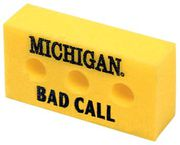 MCM University of Michigan Bad Call Foam Brick
