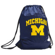 Carolina University of Michigan Drawstring Bag
