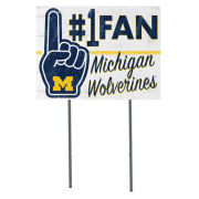 KH Sports Fan University of Michigan #1 Fan Yard Sign