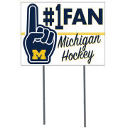 KH Sports Fan University of Michigan Hockey #1 Fan Yard Sign