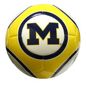 Baden Michigan Wolverines Size 4 Soccer Ball
