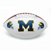 Baden University of Michigan Football Autographable Football