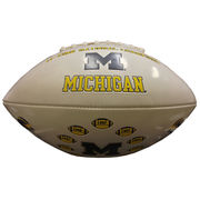 Baden University of Michigan Football 11x National Champions Football