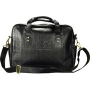 Carolina Sewn University of Michigan Black Leather Business Case