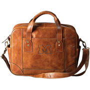 Carolina Sewn University of Michigan Tan Leather Business Case