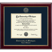 University of Michigan Diploma Frame: Embossed Gallery [Law]
