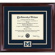 University of Michigan Diploma Frame: Spirit Encore [Medical]