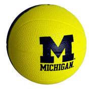 University of Michigan Basketball 4 Foam Basketball by Spirit